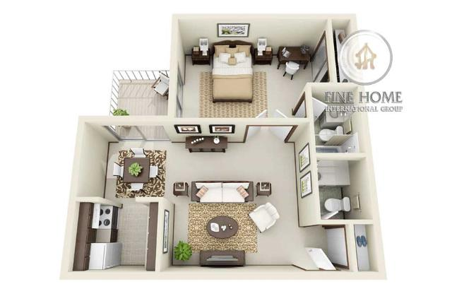 Apartment in Hamdan street