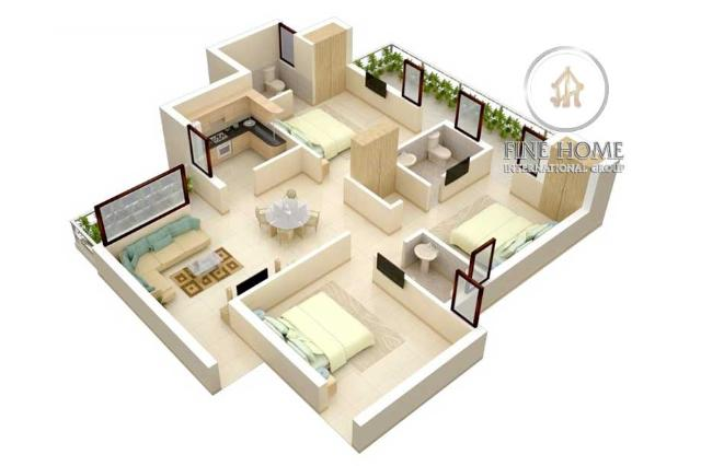 Luxury Apartment Al Salam Street