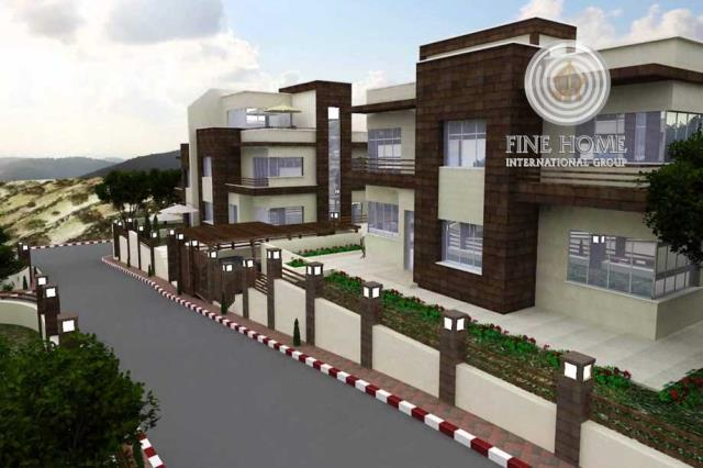 Superb 9 Villas Compound in Khalifa City