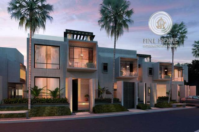 3 Villas Compound in Shakhbout,Abu Dhabi ( CO_99 )