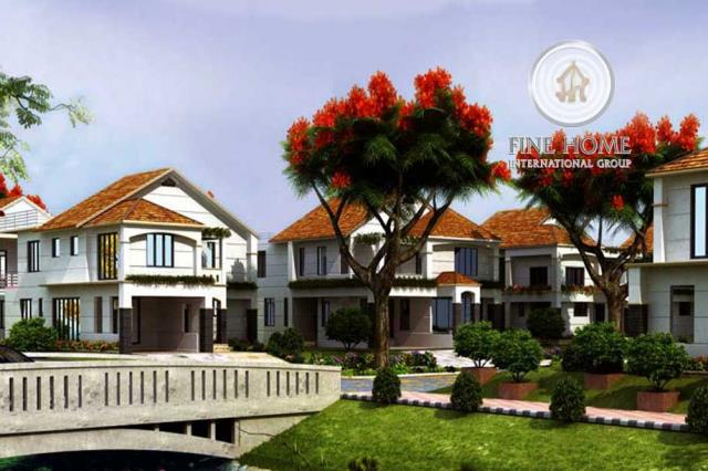 4 Villas Compound In Khalifa City , Abu Dhabi(CO_1...