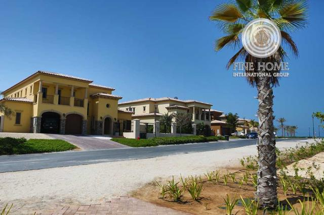 Awesome 5 Bedrooms Villa For Sale in Saadiyat Beac...