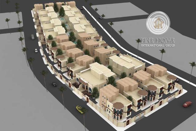 Spacious ( 2 Villas) Compound in Mohammed Bin Zayed City,Abu Dhabi (COL_75)