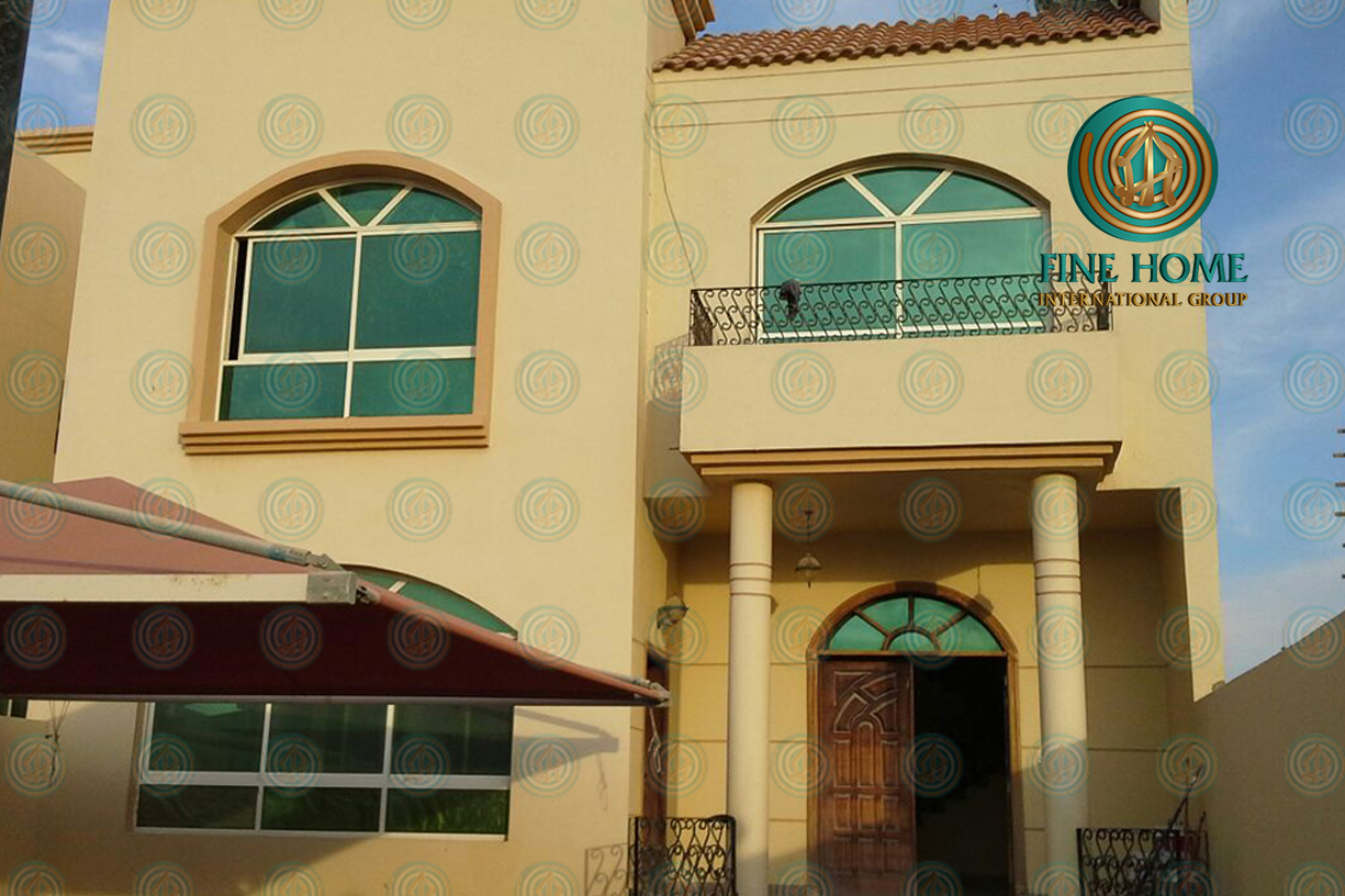 Wonderful Villa in Mohamed Bin Zayed City _ Abu Dhabi (VL_332)