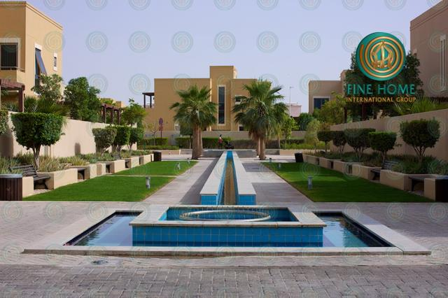Town House in Al Qattouf in Al Raha Garden TO_48