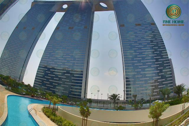 Fantastic Studio Apartment in Gate Tower ( Al Reem...