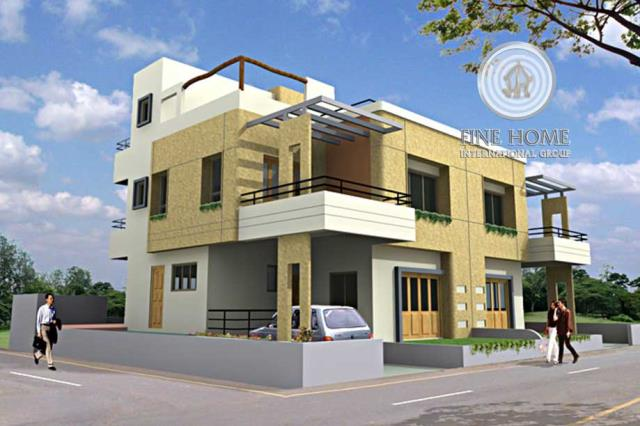 Villa in Al Shamkha Area, Abu Dhabi City