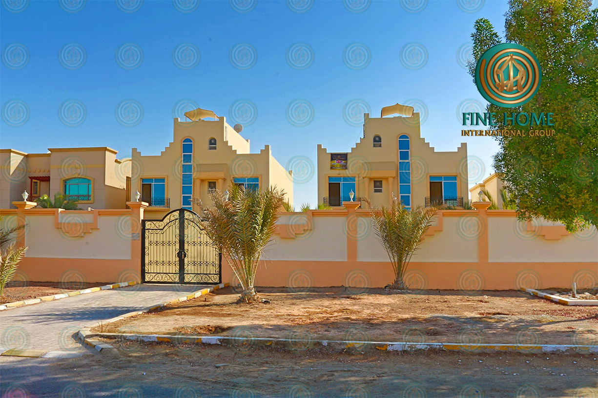 Amazing Compound (2) Villas in Khalifa City _ Abu ...