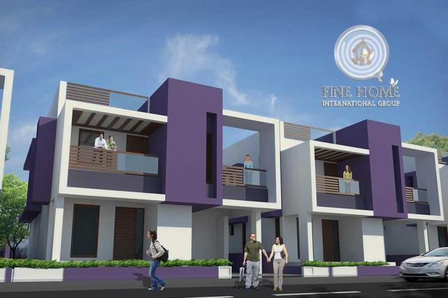Style 2Villas Compound in Shakhbout City