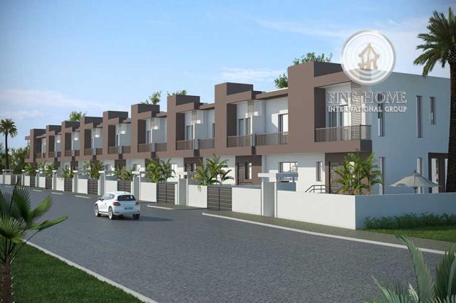 Great 8 Villas Compound in Khalifa City.