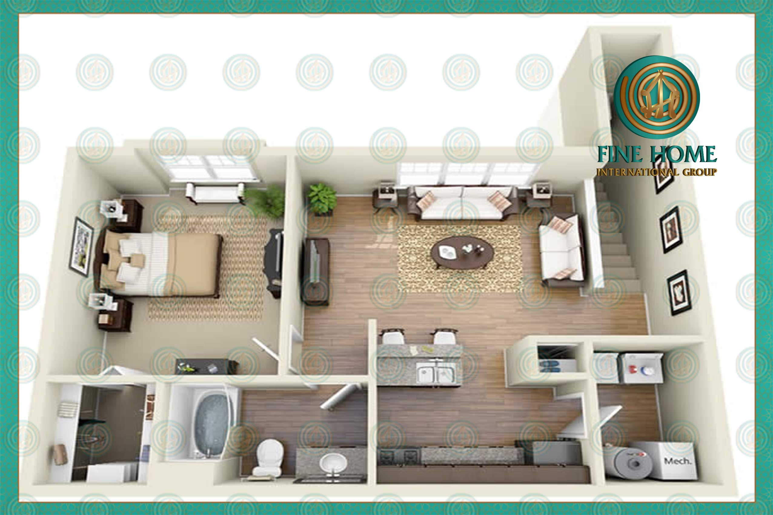 Amazing Apartment in Electra St._Abu Dhabi (APL_40...